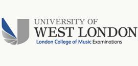 London College of Music logo